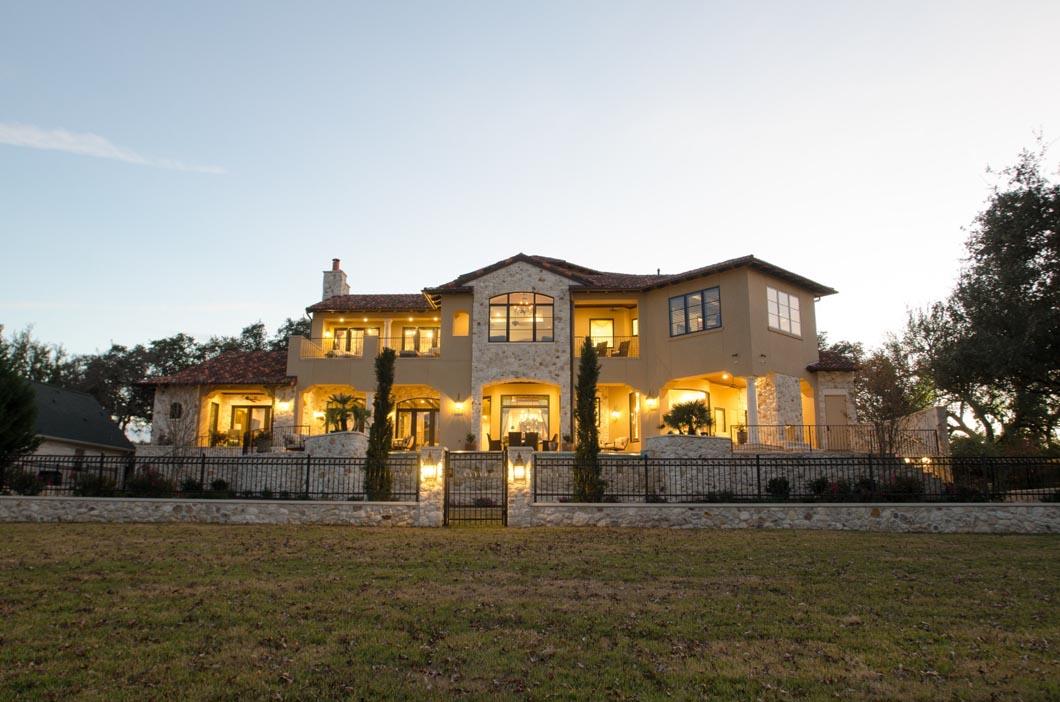Tuscan Villa Wright Builders